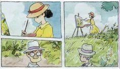 original manga series by hayao miyazaki