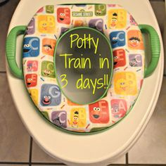 Potty Training Tips and Tools - Potty training in 3 days!