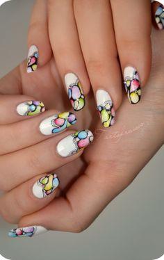 tartofraises #nail #nails #nailart je suis fan de tout ses bail art allez voir les vidéos sur YouTube c'est vraiment bien expliqué