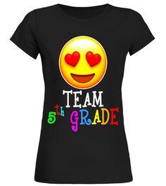 Emoji Team Fifth Grade Teacher T Shirt for lover back to school t-shirt,back to school movie t shirt,
