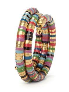 Bajra Baubles Multi Colored Stretch Bracelet
