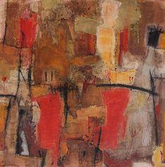 Abstrakte Kunst von Iris Rickart / Unikatbild 165 / Mischtechnik