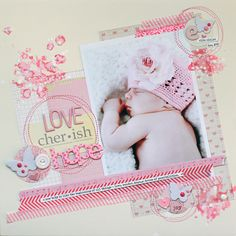 scrapbook page by lisa dickinson @ shimelle.com
