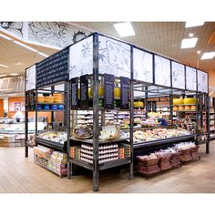 Supermarket Design | Retail Design | Shop Interiors | Roche Bros, Westborough, USA