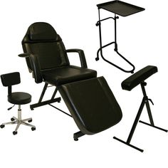 LCL Beauty Tattoo Package Massage Table Chair Arm Bar Bed Tray Studio Salon Spa Equipment >>> More info could be found at the image url. (Note:Amazon affiliate link)