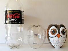 MissOwlCat: Plastik Şişe ile Baykuş Yapıyoruz;
