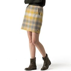 Image for WOOL SUNSET PLAID SKIRT from Tommy Hilfiger USA