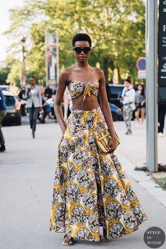 Haute Couture Fall 2019 Street Style: Maria Borges - STYLE DU MONDE | Street Style Street Fashion Photos Maria Borges