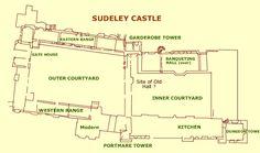Sudeley Castle, inspiration, possibly, for Blandings Castle.