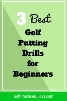 Awesome Here are the 3 best golf putting drills for beginners to improve their putting stroke and start sinking more putts on the putting green. Find out what golf drills you should be doing at practice by clicking the link to today's article! Golf Putting Tips, Masters Golf, Golf R, Play Golf, Golf Practice, Golf Chipping, Chipping Tips, Golf Videos, Golf Drivers