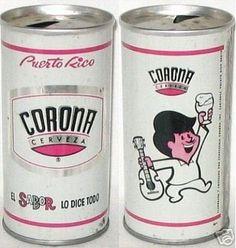 Cantalicio Cerveza Corona de lata