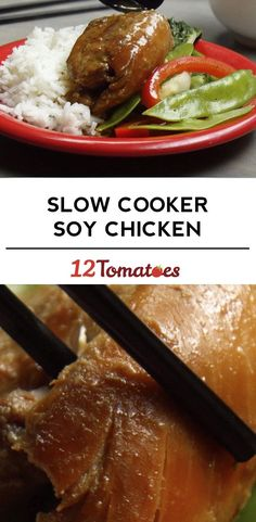 Slow Cooker Soy Chicken