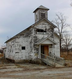 Abandoned Oklahoma homes | Picher, Oklahoma - Abandoned Christian Church | Flickr - Photo Sharing ...