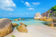 Crystal Bay on the island of Koh Samui in Thailand