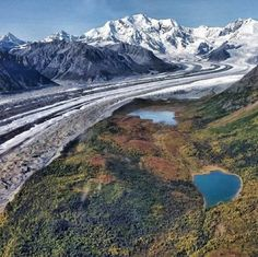 Did you know that Wrangell-St. Elias National Park in Alaska equals six Yellowstones?
