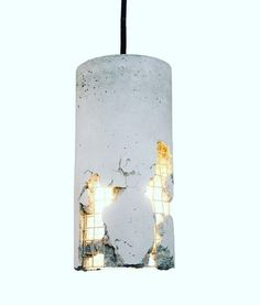 """""""This is the Delta concrete pendant by LJ Lamps! What do you guys think? #light #lights #lightings #lighting #lightingdesign #lightingdesigner #pendant…"""""""