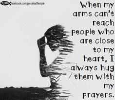Prayer hugs