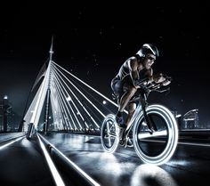 The Future of Sports The Tron films inspired collaboration between Photographer Tim Tadder and digital artist Mike Campau is showing a futuristic vision Sport Photography, Creative Photography, Night Photography, Photography Styles, Headshot Photography, Inspiring Photography, Summer Photography, Flash Photography, Photography Tutorials