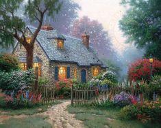 Foxglove Cottage | The Thomas Kinkade Company