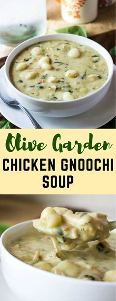 Lower Excess Fat Rooster Recipes That Basically Prime Olive Garden Chicken Gnocchi Soup Crockpot Recipes, Chicken Recipes, Cooking Recipes, Chicken Soups, Chicken Rice, Sopa Crock Pot, Olive Garden Recipes, Olive Garden Soups, Olive Garden Chicken Gnocchi Soup Recipe Crock Pot