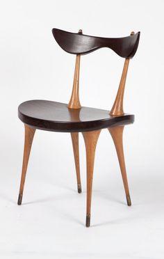 Renaat Braem; Side Chair, 1952.