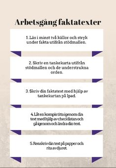 Att skriva faktatexter Writing A Book, Writing Tips, Teaching Genre, Swedish Language, Study Techniques, Good Student, Teaching Materials, Study Motivation, Writing Activities