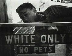 Discrimination against Blacks in America 1930's
