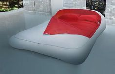 futuristic zip up bed