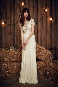 Jenny Packham 2017 ~ Luxus im Bohemian Style  ~ Brautkleider Trends 2017