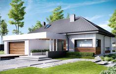 Dom jest zaprojektowany w standardzie energooszczędnym, z odpowiednio grubą izolacją ścian, dachu i podłogi. Zastosowana tu energooszczędna stolarka oraz wentylacja mechaniczna z odzyskiem ciepła z pewnością przyczynią się do obniżenia kosztów utrzymania domu w przyszłości.