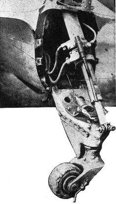 Tailwheel unit