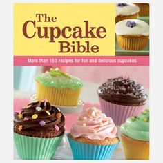 The Cupcake Bible now featured on Fab.