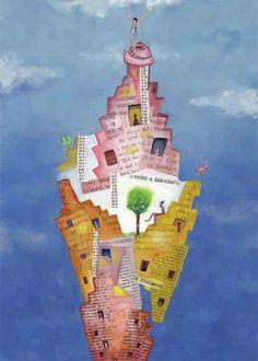 Un mundo de ilusiones en ilustraciones