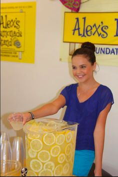 Bailee Madison stopped by to support ALSF! via @pretty things Please