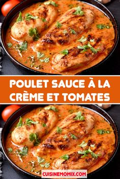 Healthy Dinner Recipes, Diet Recipes, Chicken Recipes, Crab Deviled Eggs Recipe, Sauce A La Creme, Salty Foods, Cooking Chef, Family Meals, Food Inspiration