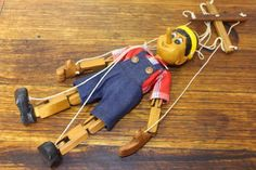 Vintage Hand Carved pinocchio Puppet | Collectables | Gumtree Australia Brimbank Area - Brooklyn | 1165216045