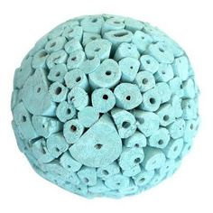 Tiffany Blue Large Decorative Balls by Angel Aromatics |  Available from http://www.angelaromatics.com.au/scented-bowl-decorations/tiffany-blue-scented-balls