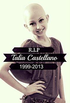 Makeup IS my wig ~Talia Joy Castellano. RIP Talia. Just keep swimming, Princess<3