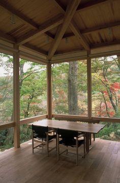 ヒメシャラの森の家|横内敏人建築設計事務所