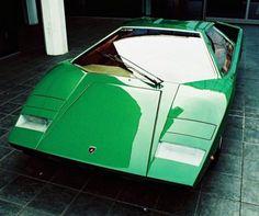 Mean Green Countach