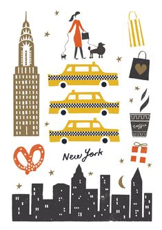 New York Illustration [Debbie Powell]