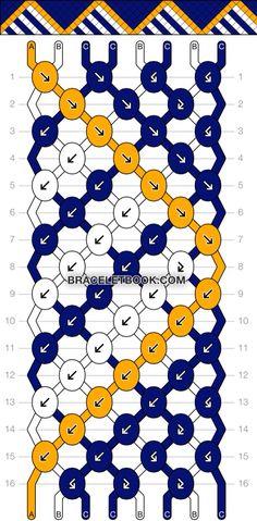 Pattern 15533 on Bracelet Book