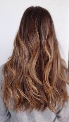 Subtle ombré and highlights