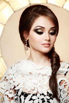 Arabic Smokey Eye Makeup Over Look 09