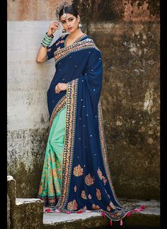 Sarees Online: Shop the latest Indian Sarees at the best price online shopping. From classic to contemporary, daily wear to party wear saree, Cbazaar has saree for every occasion. Peach Color Saree, Blue Saree, Latest Indian Saree, Indian Sarees Online, Tussar Silk Saree, Art Silk Sarees, Satin Saree, Lehenga Choli, Anarkali