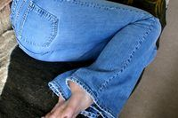 How to Make Low Cut Jeans | eHow