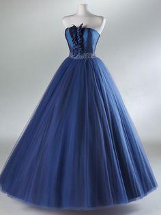 Custom make Hand-Made Flower Floor-length Ball gowns