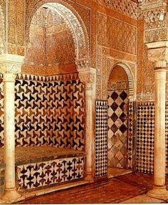 Alhambra sala de las camas La Alhambra abre la Sala de las Camas del Baño Real de Comares http://experienciasyociolazoleon.wordpress.com/