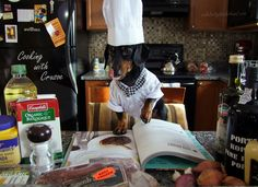 Cooking with Crusoe Dachshund