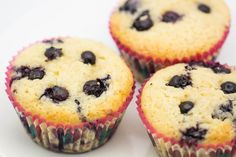 Hovkonditorn: Blueberry-Coconut Oil Muffins
